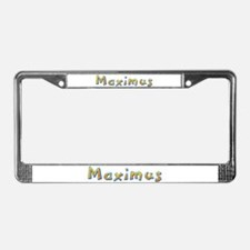 Maximus Giraffe License Plate Frame