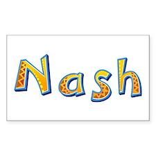 Nash Giraffe Rectangle Decal