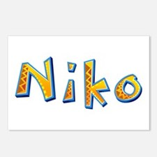 Niko Giraffe Postcards 8 Pack