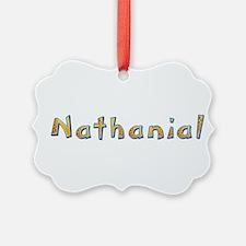 Nathanial Giraffe Ornament
