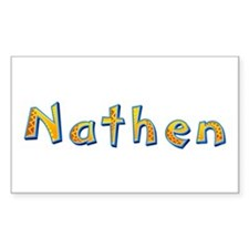 Nathen Giraffe Rectangle Decal