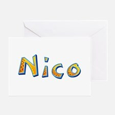Nico Giraffe Greeting Card