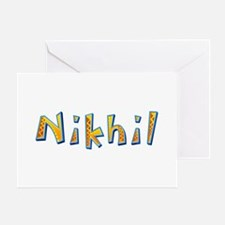 Nikhil Giraffe Greeting Card