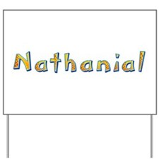 Nathanial Giraffe Yard Sign