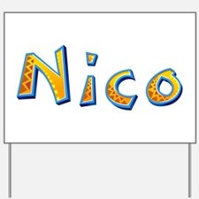 Nico Giraffe Yard Sign