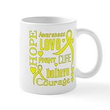 Spina Bifida Hope Words Mug