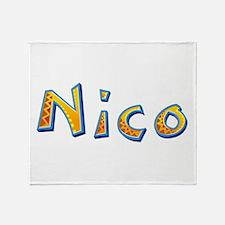 Nico Giraffe Throw Blanket