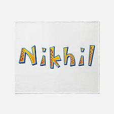 Nikhil Giraffe Throw Blanket