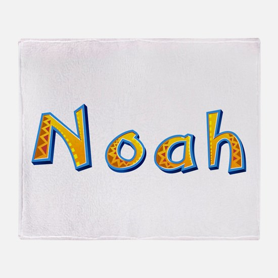 Noah Giraffe Throw Blanket