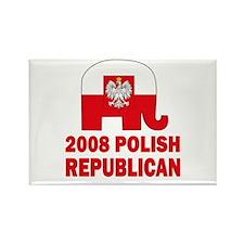 Polish Family Rectangle Magnet