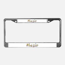 Nasir Giraffe License Plate Frame