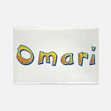 Omari Giraffe Rectangle Magnet