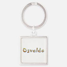 Osvaldo Giraffe Square Keychain