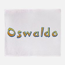Oswaldo Giraffe Throw Blanket