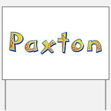 Paxton Giraffe Yard Sign