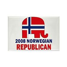 Norwegian Family Rectangle Magnet