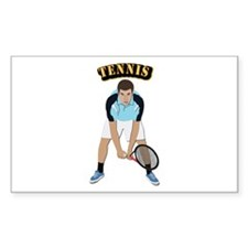 Tennis With Text Decal