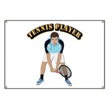 Tennis With Text Banner