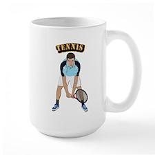 Tennis With Text Mug