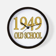 1949: Old School Wall Clock
