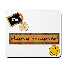 Happy Scrapper Mousepad