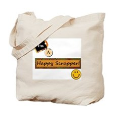 Happy Scrapper Tote Bag