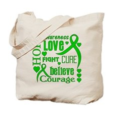 TBI Hope Words Tote Bag