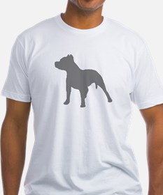 pitbull gray 1 T-Shirt