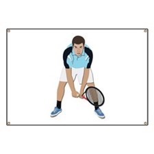 Tennis Player Banner