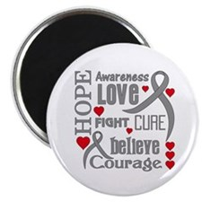"Diabetes Hope Words 2.25"" Magnet (10 pack)"