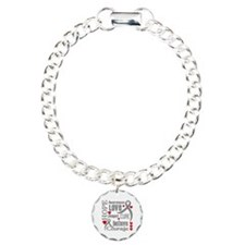 Diabetes Hope Words Charm Bracelet, One Charm