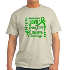 Cerebral Palsy Hope Words T-Shirt