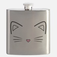 Cat Whiskers Flask