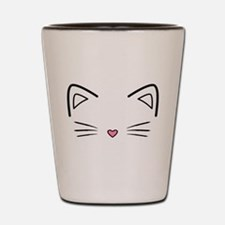Cat Whiskers Shot Glass