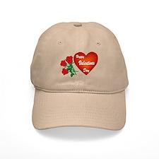 Heart and Roses Baseball Cap