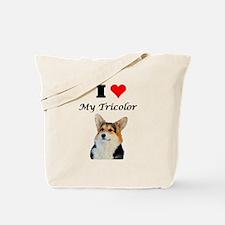 I love my Tricolor Corgi Tote Bag