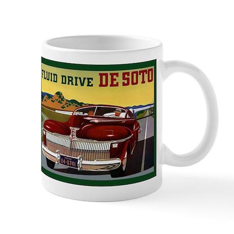 1942 Desoto Chrysler Classic Car Mug