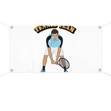 Tennis Team Banner