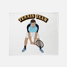 Tennis Team Throw Blanket