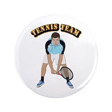 "Tennis Team 3.5"" Button"