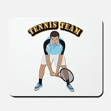 Tennis Team Mousepad