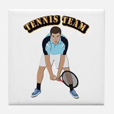 Tennis Team Tile Coaster