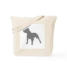 pitbull gray 1C Tote Bag