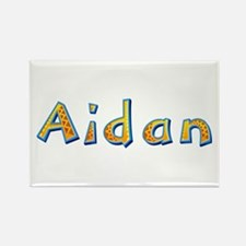 Aidan Giraffe Rectangle Magnet