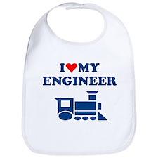 ENGINEER SHIRT I LOVE MY ENGI Bib