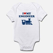 ENGINEER SHIRT I LOVE MY ENGI Infant Bodysuit