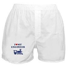 ENGINEER SHIRT I LOVE MY ENGI Boxer Shorts