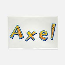 Axel Giraffe Rectangle Magnet