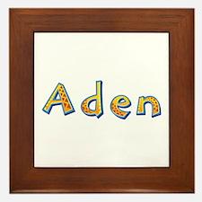 Aden Giraffe Framed Tile