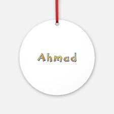 Ahmad Giraffe Round Ornament